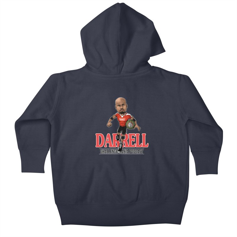 Darrell The Goat Kids Baby Zip-Up Hoody by Challenge Mania Shop