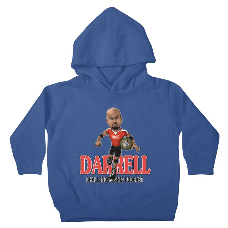 Darrell The Goat Kids Toddler Pullover Hoody by Challenge Mania Shop