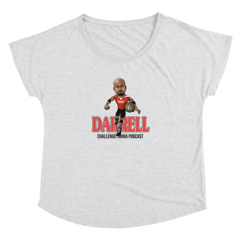 Darrell The Goat Women's Scoop Neck by Challenge Mania Shop