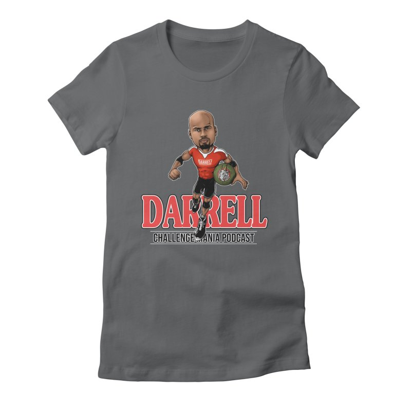 Darrell The Goat Women's Fitted T-Shirt by Challenge Mania Shop