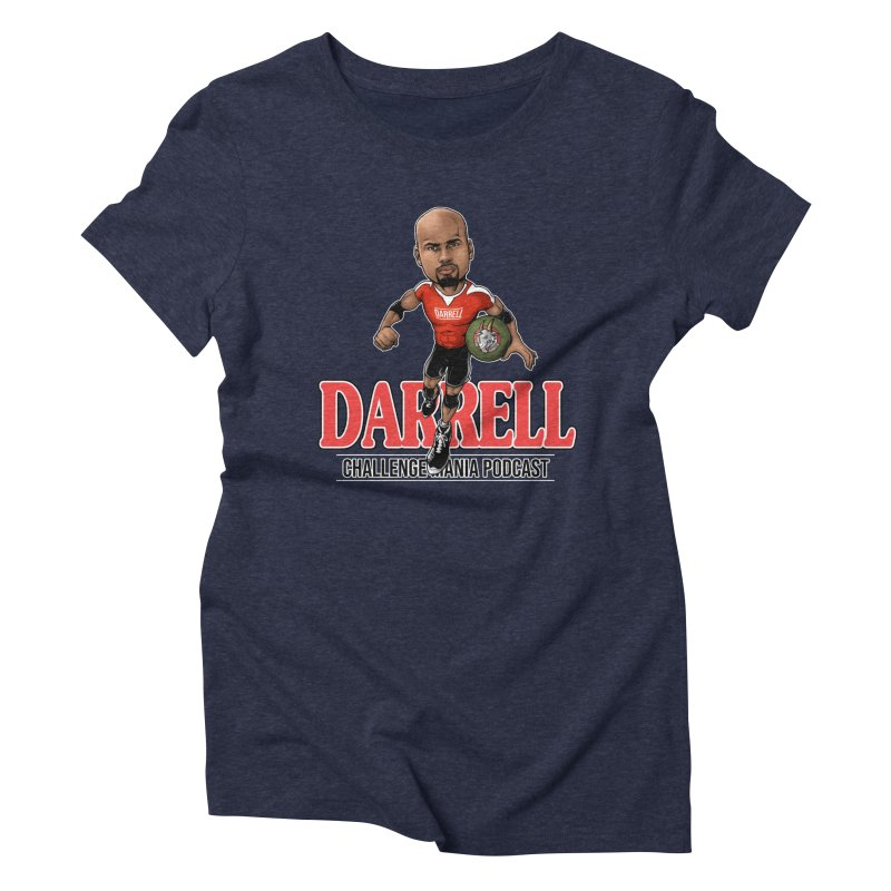 Darrell The Goat Women's Triblend T-Shirt by Challenge Mania Shop