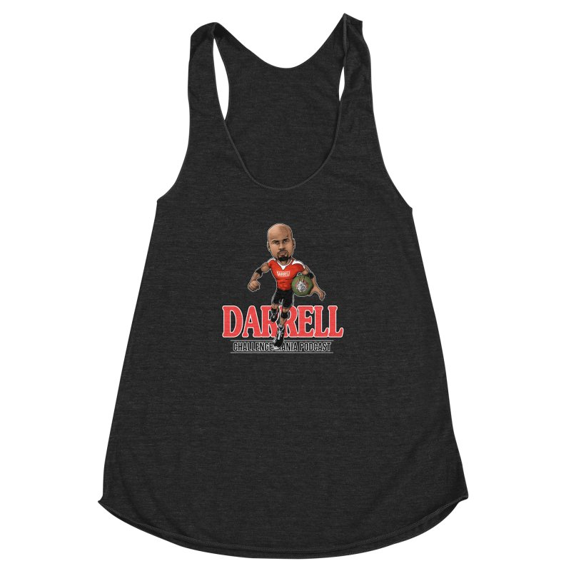 Darrell The Goat Women's Racerback Triblend Tank by Challenge Mania Shop