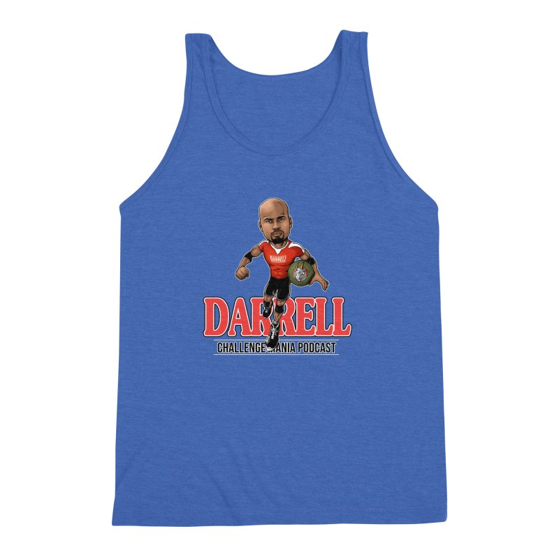 Darrell The Goat Men's Triblend Tank by Challenge Mania Shop