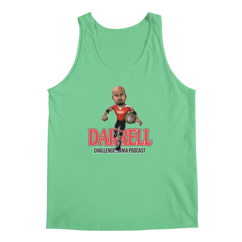 Darrell The Goat Men's Regular Tank by Challenge Mania Shop