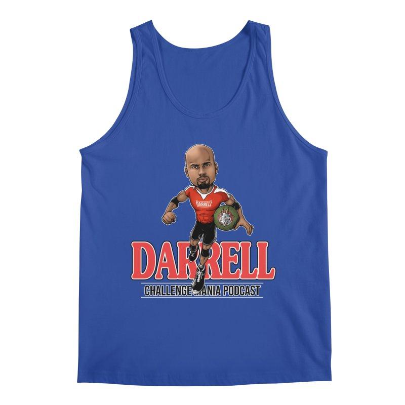 Darrell The Goat Men's Regular Tank by Challenge Mania Shop