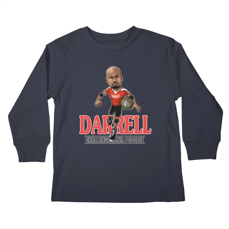 Darrell The Goat Kids Longsleeve T-Shirt by Challenge Mania Shop
