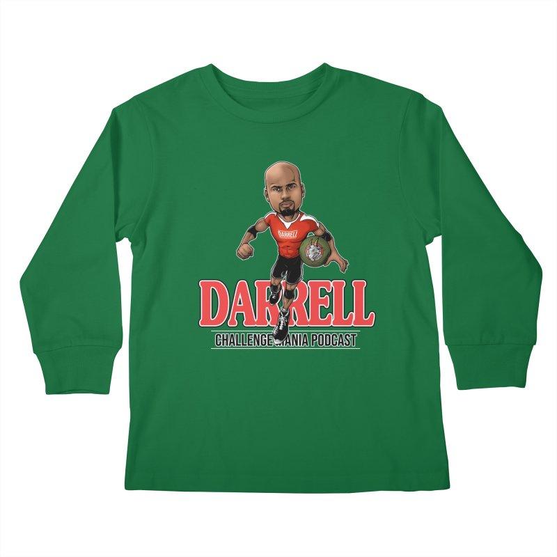 Darrell The Goat Kids Longsleeve T-Shirt by Challenge Mania Shop