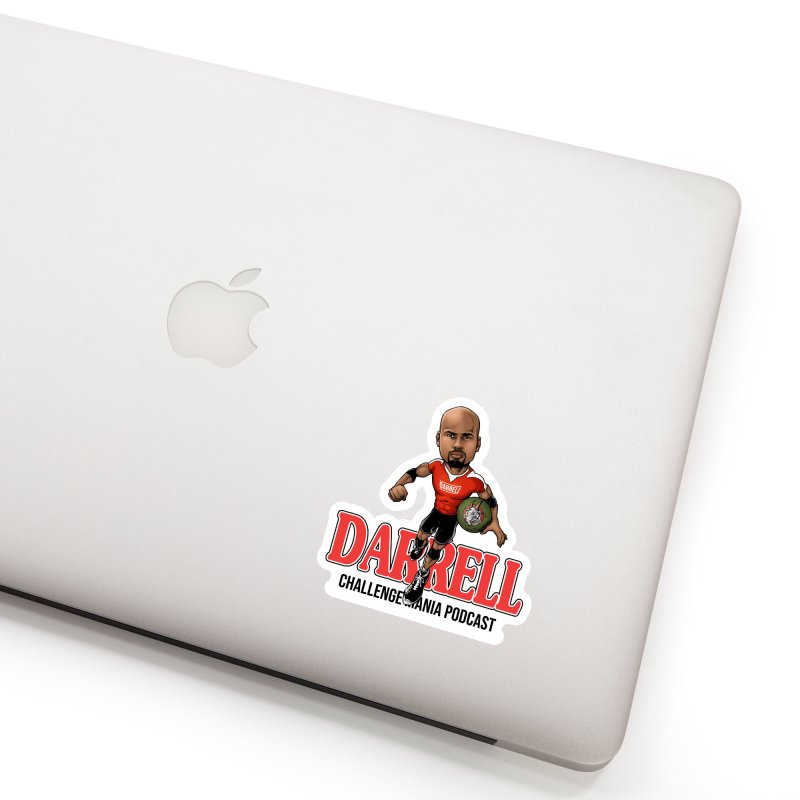 Darrell The Goat Accessories Sticker by Challenge Mania Shop
