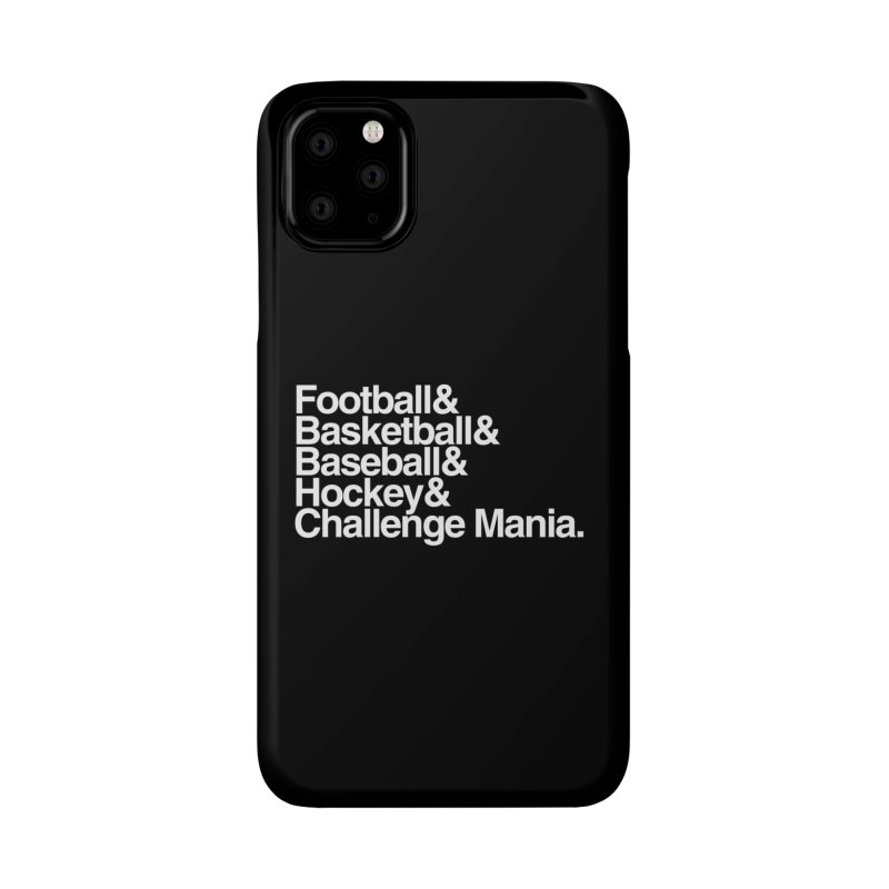 Fifth Sport (White) Accessories Phone Case by Challenge Mania Shop