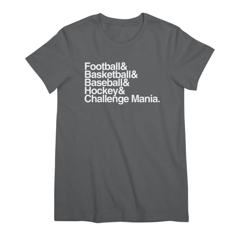 Fifth Sport (White) Women's T-Shirt by Challenge Mania Shop
