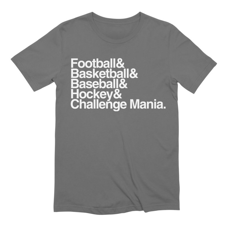 Fifth Sport (White) Men's Extra Soft T-Shirt by Challenge Mania Shop