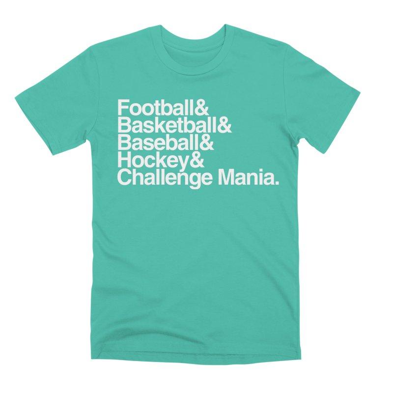 Fifth Sport (White) Men's Premium T-Shirt by Challenge Mania Shop