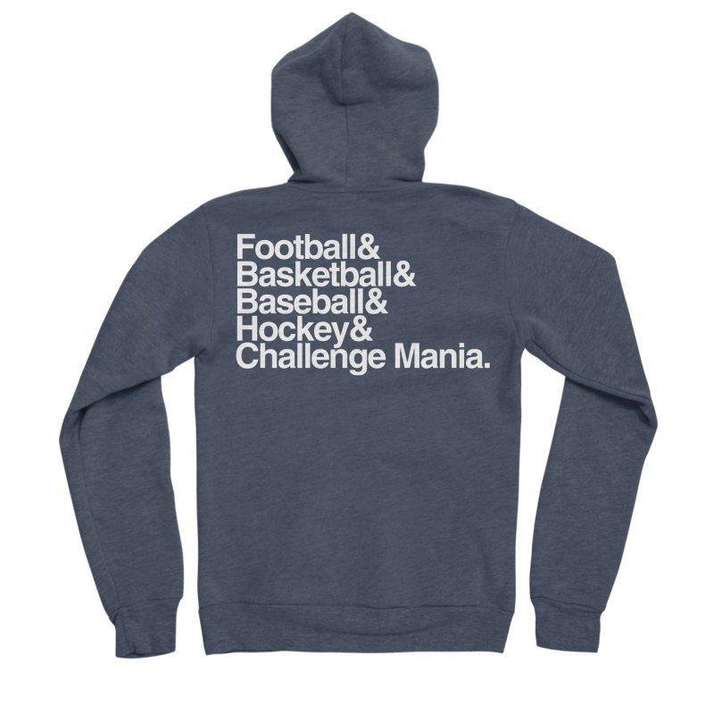Fifth Sport (White) Men's Sponge Fleece Zip-Up Hoody by Challenge Mania Shop