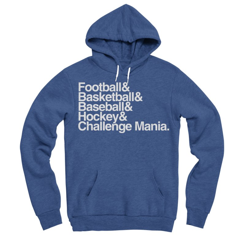 Fifth Sport (White) Men's Pullover Hoody by Challenge Mania Shop