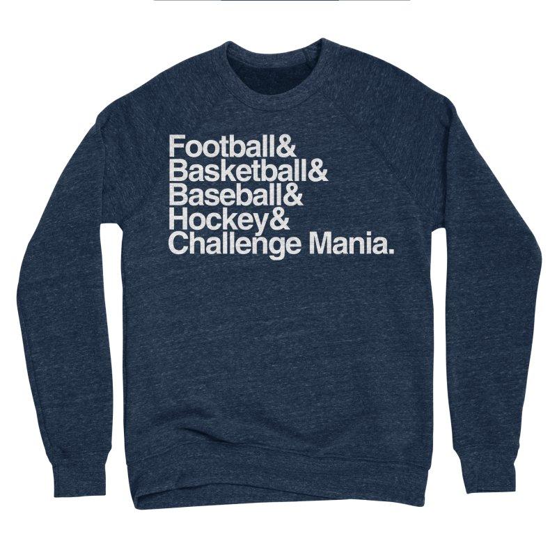 Fifth Sport (White) Men's Sponge Fleece Sweatshirt by Challenge Mania Shop