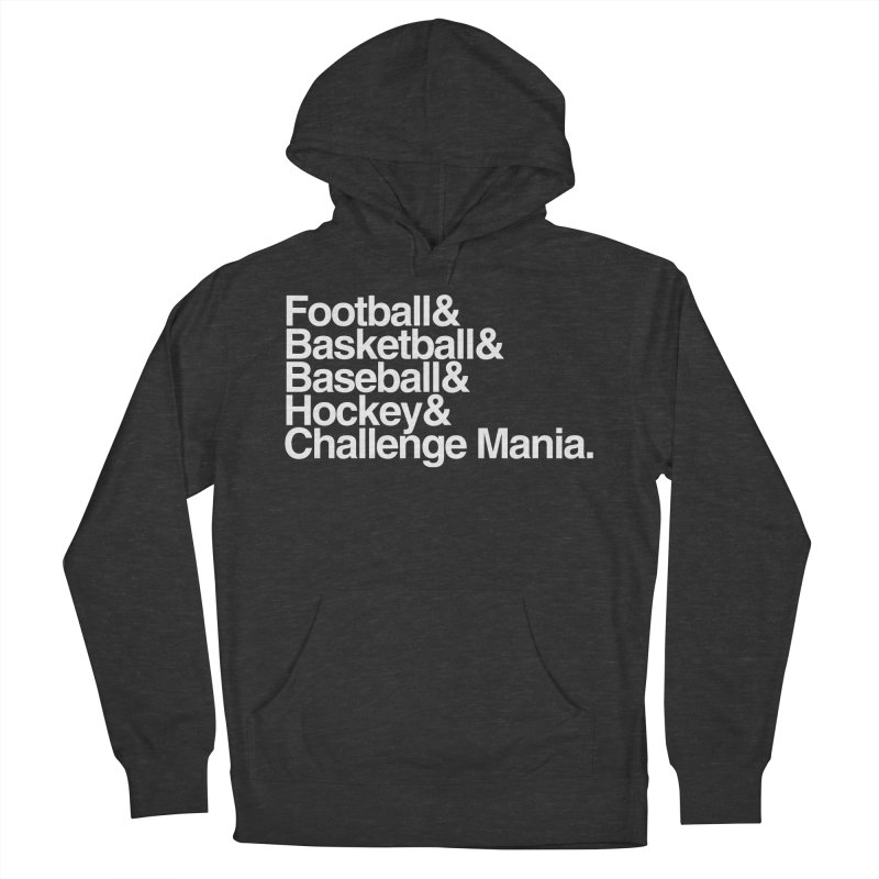 Fifth Sport (White) Women's Pullover Hoody by Challenge Mania Shop