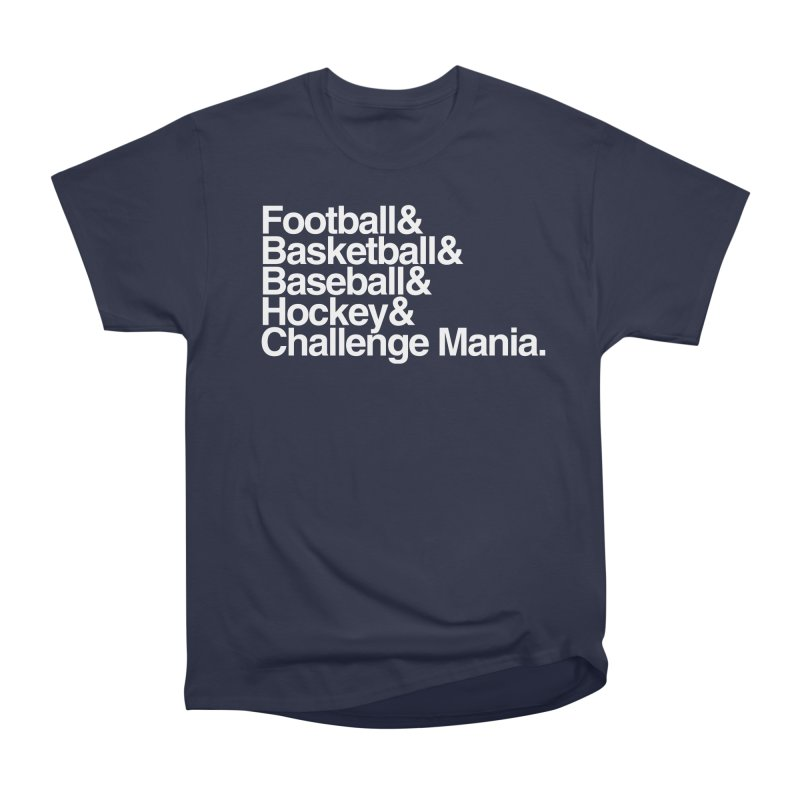 Fifth Sport (White) Women's Heavyweight Unisex T-Shirt by Challenge Mania Shop