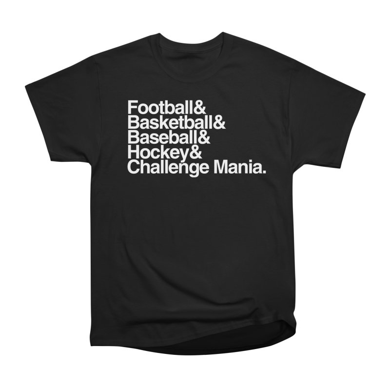 Fifth Sport (White) Men's Heavyweight T-Shirt by Challenge Mania Shop