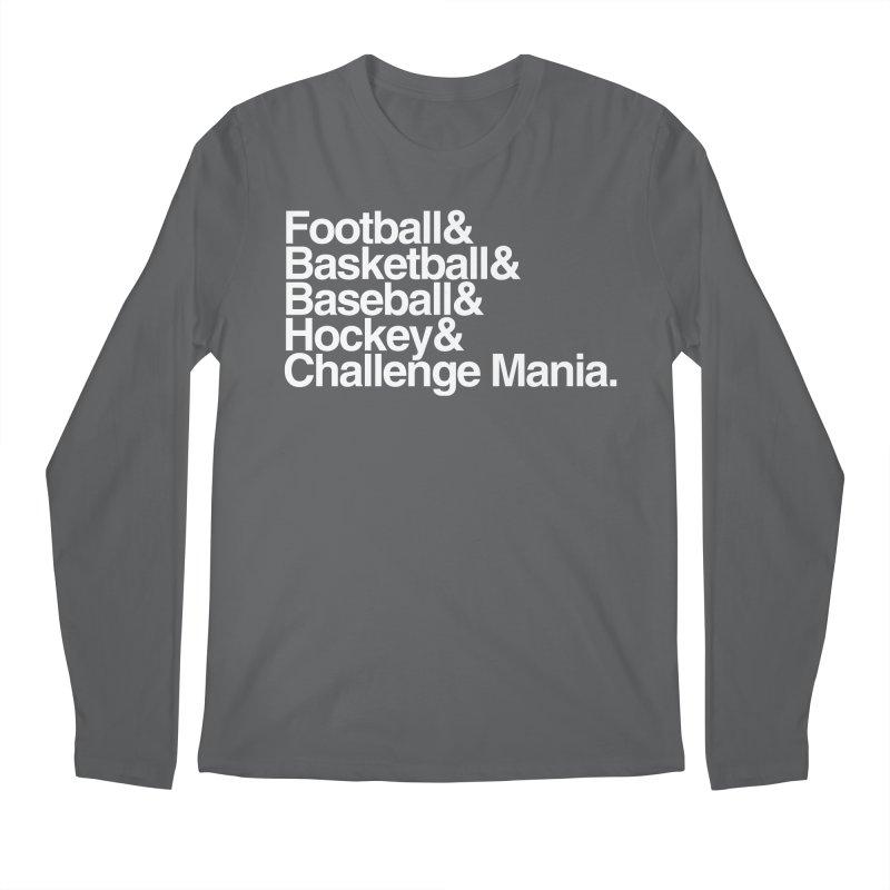 Fifth Sport (White) Men's Longsleeve T-Shirt by Challenge Mania Shop