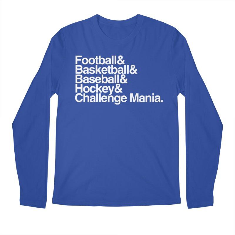 Fifth Sport (White) Men's Regular Longsleeve T-Shirt by Challenge Mania Shop