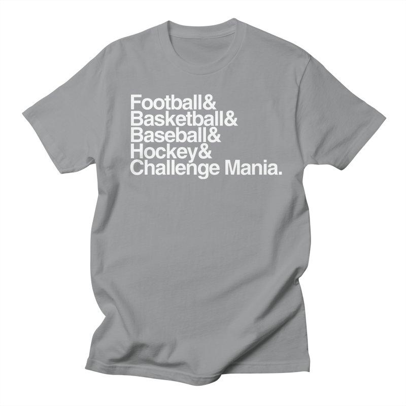 Fifth Sport (White) Men's Regular T-Shirt by Challenge Mania Shop