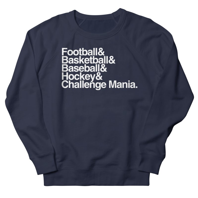 Fifth Sport (White) Men's French Terry Sweatshirt by Challenge Mania Shop
