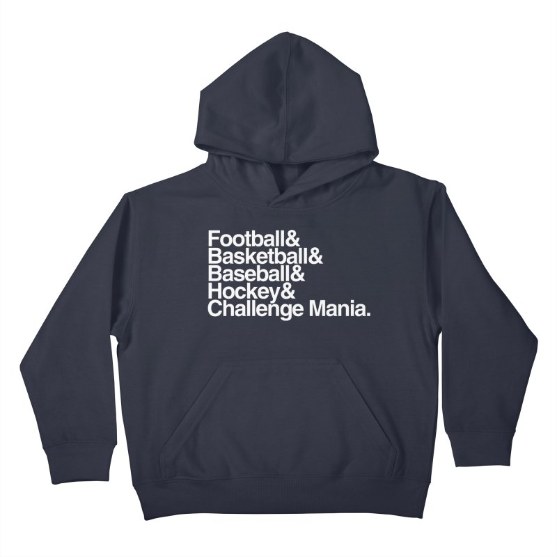 Fifth Sport (White) Kids Pullover Hoody by Challenge Mania Shop