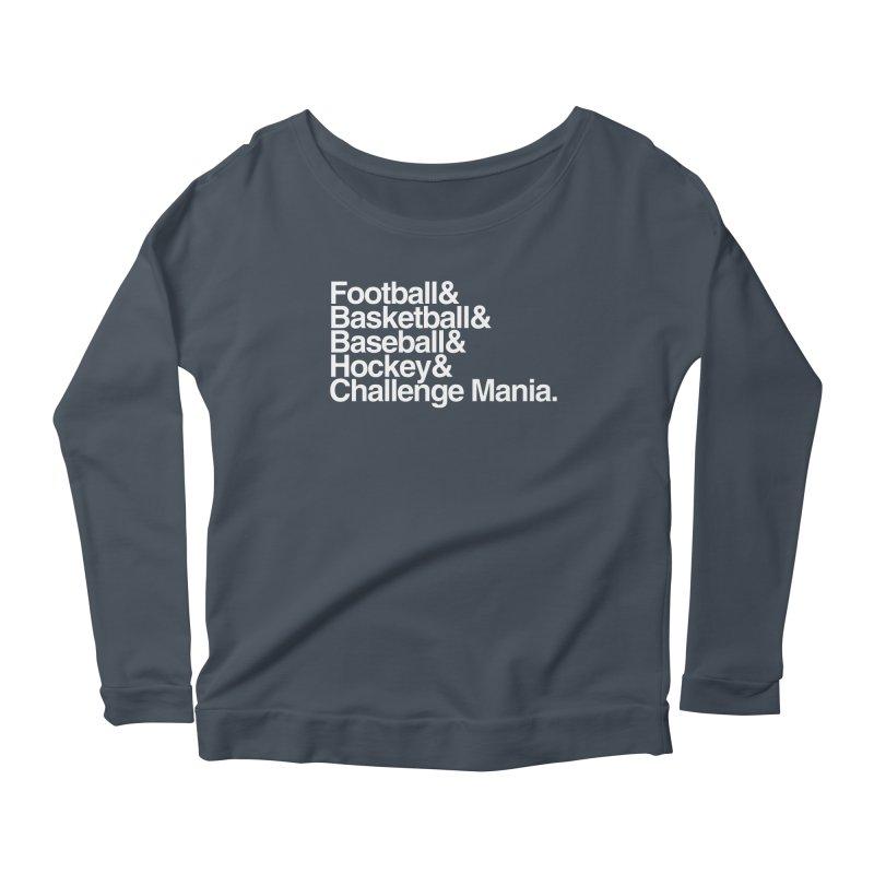 Fifth Sport (White) Women's Longsleeve T-Shirt by Challenge Mania Shop