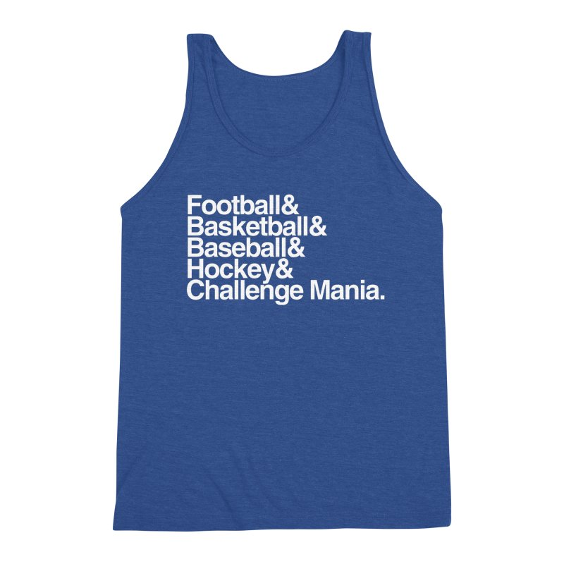 Fifth Sport (White) Men's Tank by Challenge Mania Shop
