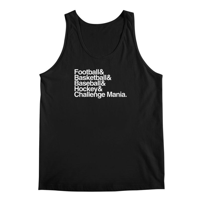 Fifth Sport (White) Men's Regular Tank by Challenge Mania Shop