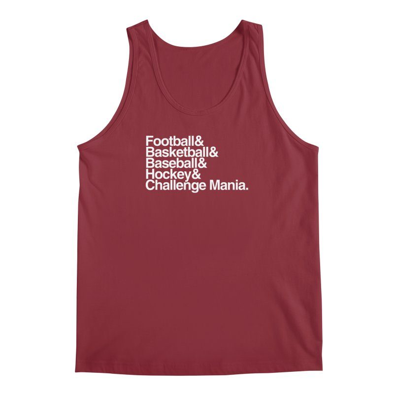 Fifth Sport (White) Men's Regular Tank by Challenge Mania Shop