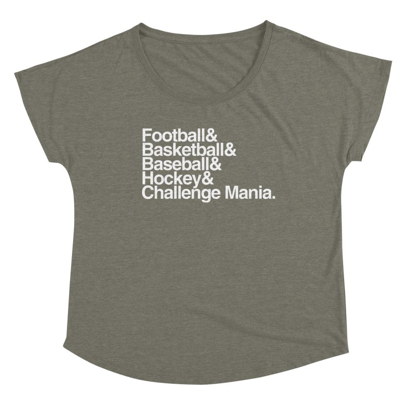 Fifth Sport (White) Women's Scoop Neck by Challenge Mania Shop