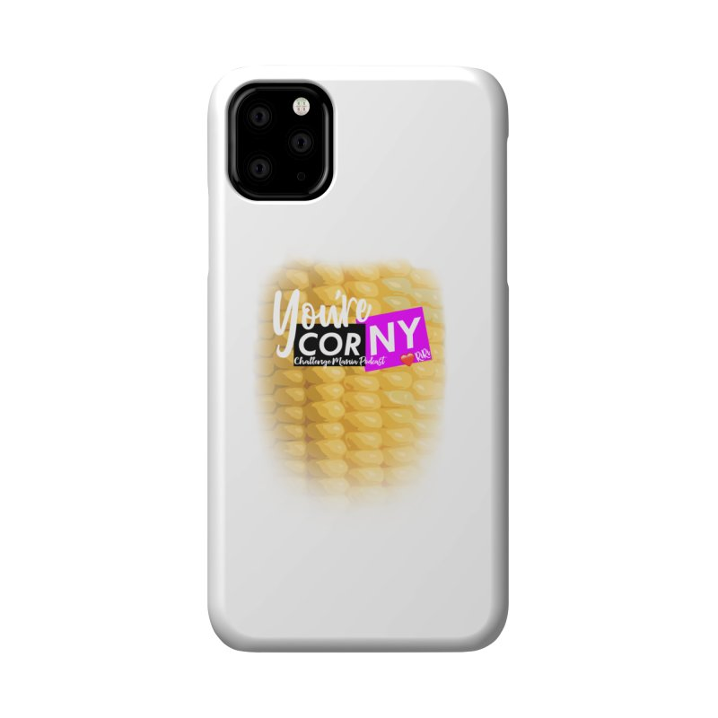 Marie You're Corny Accessories Phone Case by Challenge Mania Shop