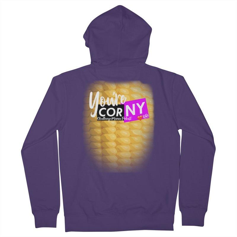 Marie You're Corny Women's Zip-Up Hoody by Challenge Mania Shop