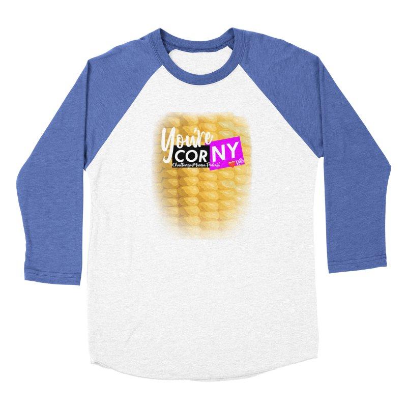 Marie You're Corny Women's Longsleeve T-Shirt by Challenge Mania Shop