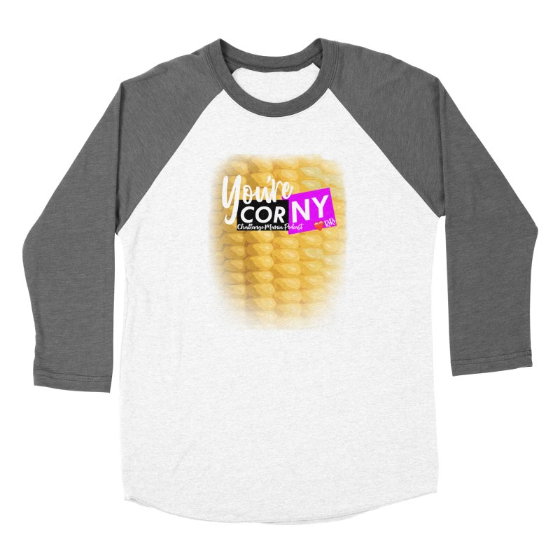 Marie You're Corny Women's Longsleeve T-Shirt by Challenge Mania Shop