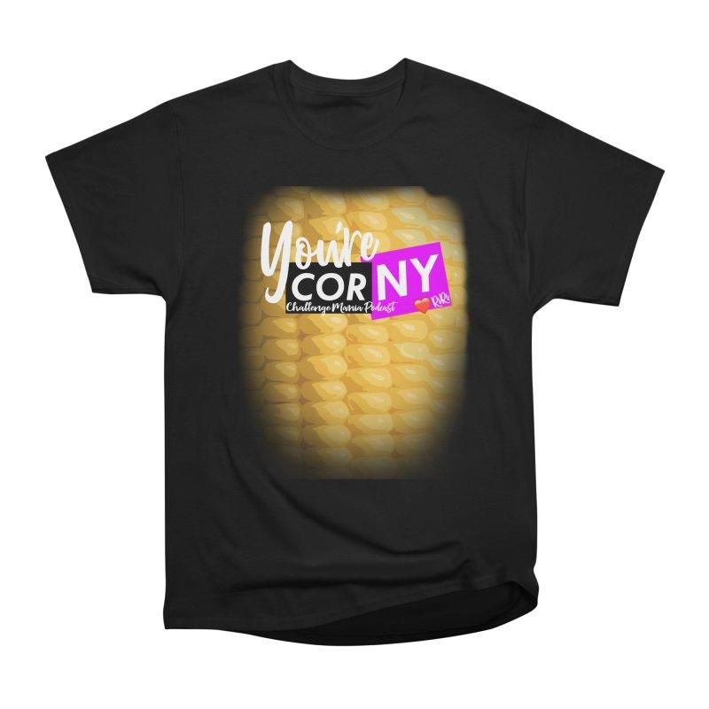 Marie You're Corny Men's Heavyweight T-Shirt by Challenge Mania Shop