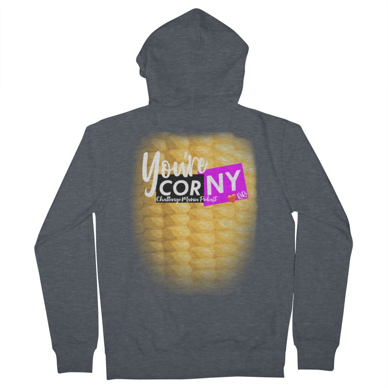 Marie You're Corny Women's Zip-Up Hoody by Challenge Mania Shop