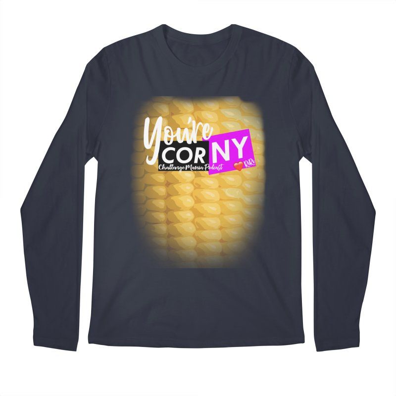 Marie You're Corny Men's Longsleeve T-Shirt by Challenge Mania Shop