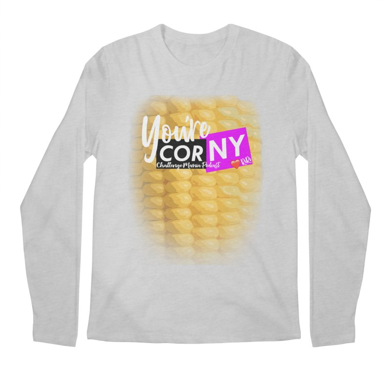 Marie You're Corny Men's Regular Longsleeve T-Shirt by Challenge Mania Shop