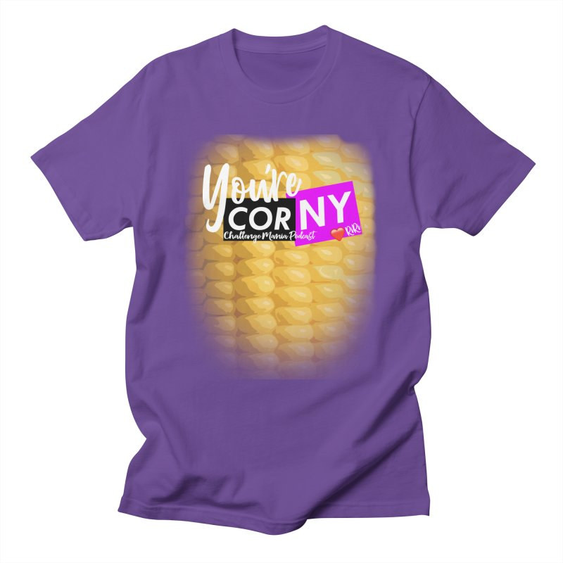Marie You're Corny Men's T-Shirt by Challenge Mania Shop