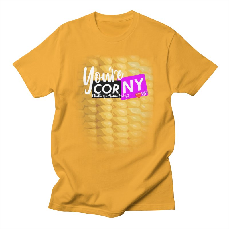 Marie You're Corny Men's Regular T-Shirt by Challenge Mania Shop
