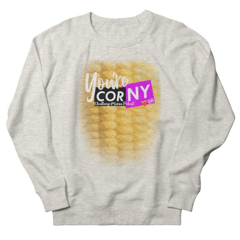 Marie You're Corny Men's Sweatshirt by Challenge Mania Shop