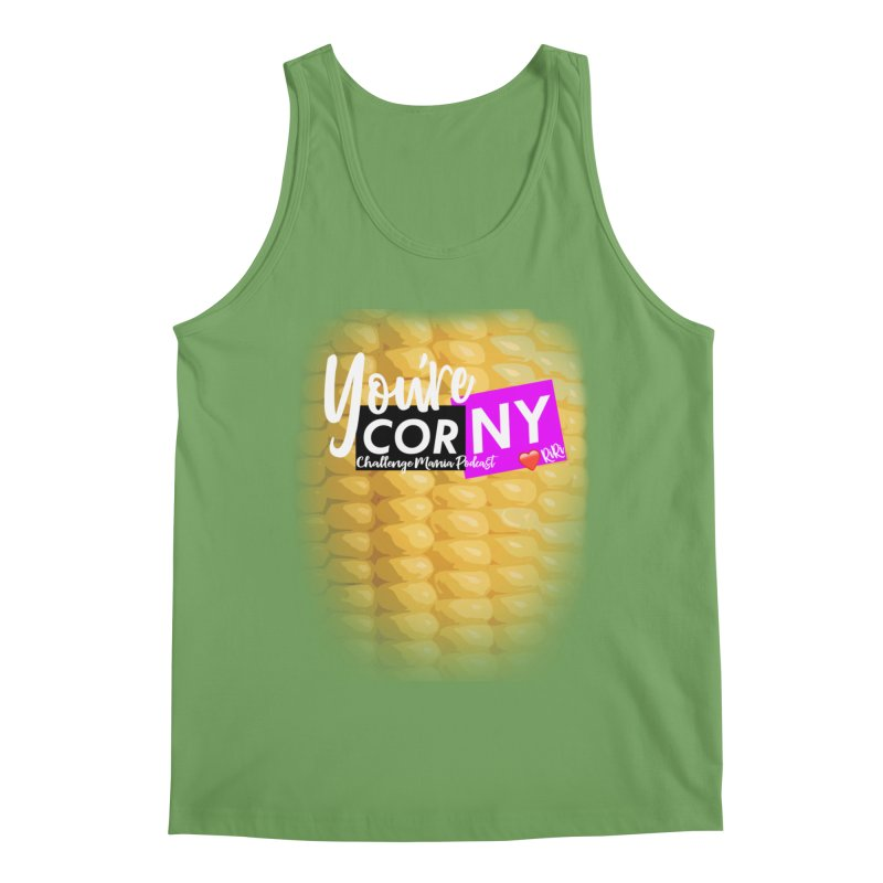 Marie You're Corny Men's Tank by Challenge Mania Shop