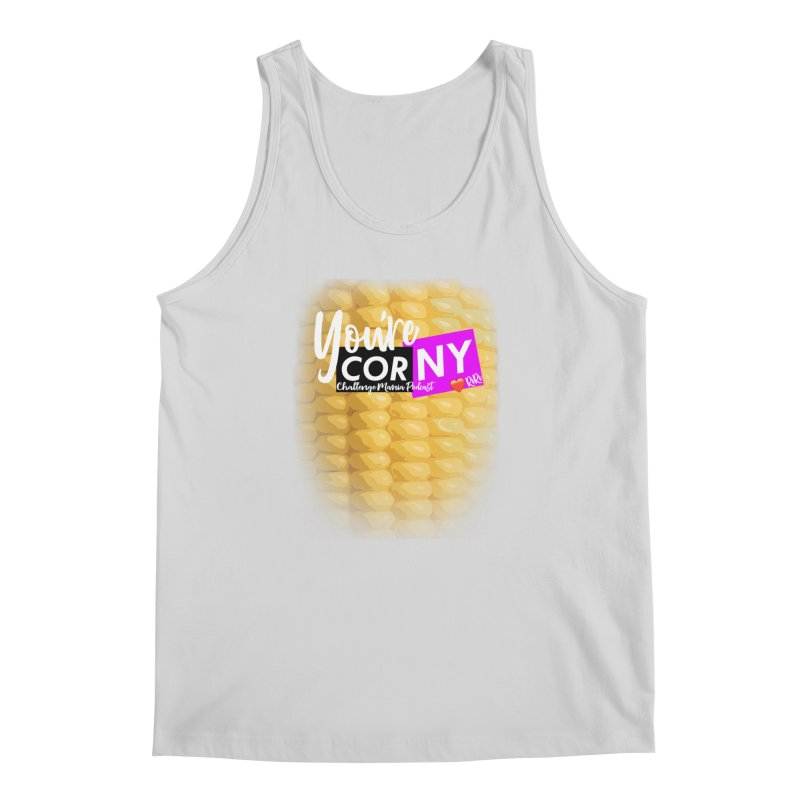 Marie You're Corny Men's Regular Tank by Challenge Mania Shop