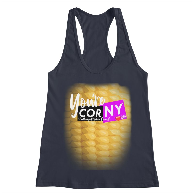 Marie You're Corny Women's Tank by Challenge Mania Shop