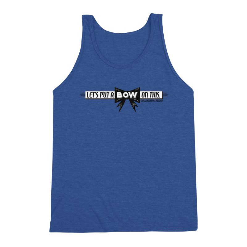 Put a Bow Men's Tank by Challenge Mania Shop