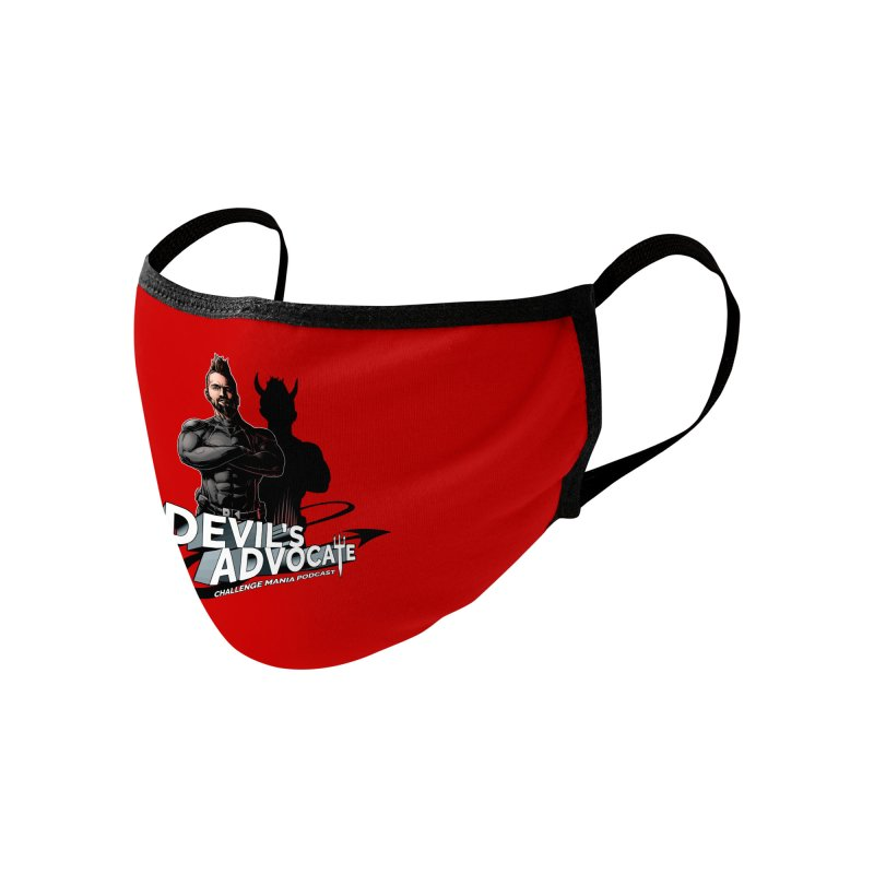 Devil's Advocate Accessories Face Mask by Challenge Mania Shop