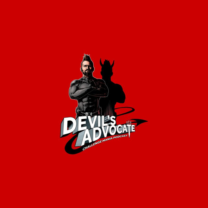 Devil's Advocate Men's Pullover Hoody by Challenge Mania Shop