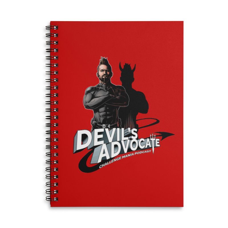 Devil's Advocate Accessories Notebook by Challenge Mania Shop